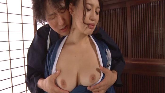 和服姿の美熟女凌辱 本田莉子