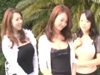 熟女三姉妹と…